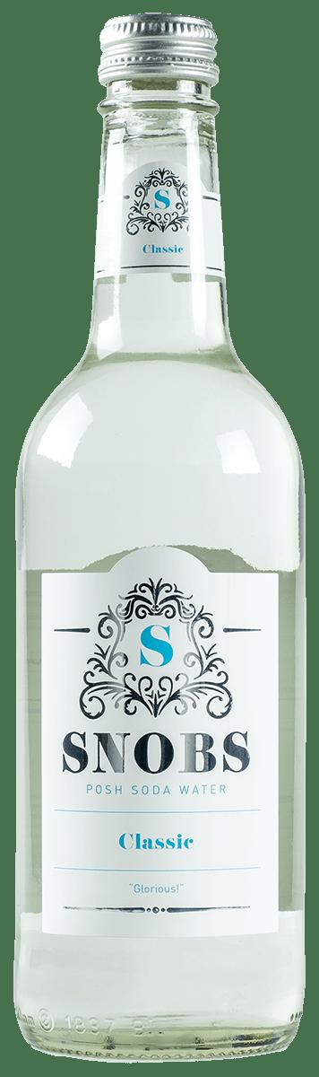 SNOBS Classic soda water