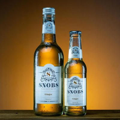SNOBS ginger soda water